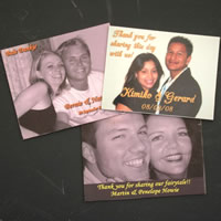 Wedding Favours : Fridge Magnet Save The Date Message