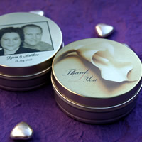 Wedding Favours : Mint To Be Personalised Mint Tins