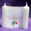Scroll Candle Invitation