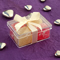 Turkish Delight in Perspex Box - Small