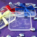 Personalised Perspex Coaster Set